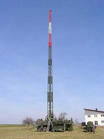 DL0NOT * DP6T 40m high Mobil EmComm & Contest Antenna Tower