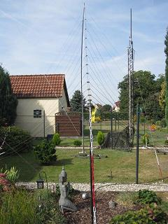 Portable 13El.HF-Log-Periodic-Antenna & and Portable RPTR-Tower