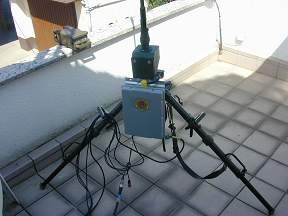 HF Portable Antenna System using CG 3000 AutoTuner